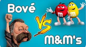 José Bové VS M&M's