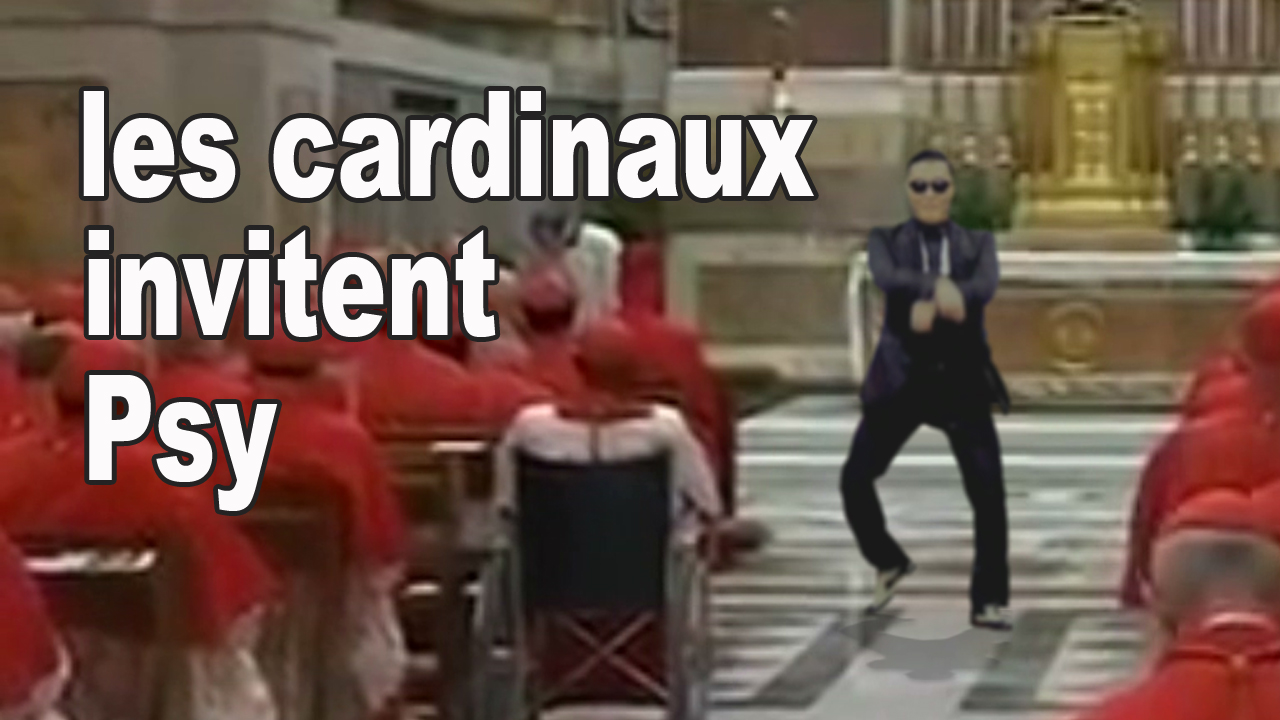 INCROYABLE ! Les Cardinaux invitent Psy