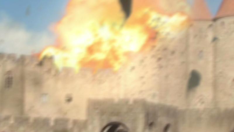 EXPLOSION à la cité de Carcassonne