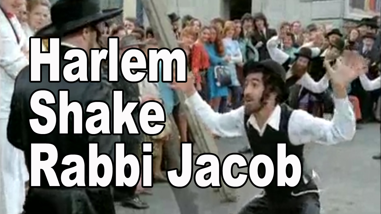 Harlem Shake Rabbi Jacob